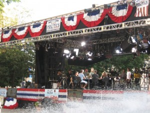 MSNBC Video Stage for Keith Olbermann